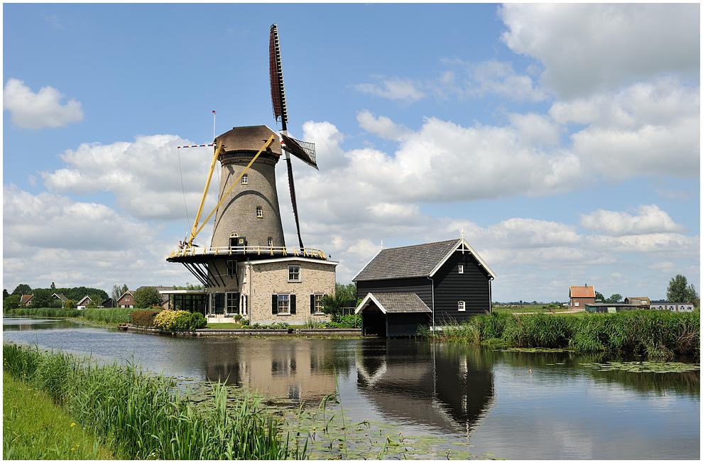Die Mühle in Bleskensgraaf