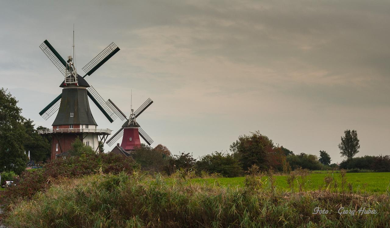 Die Mühlen von Greetsiel