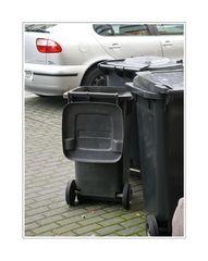 ... die Mülltonnen
