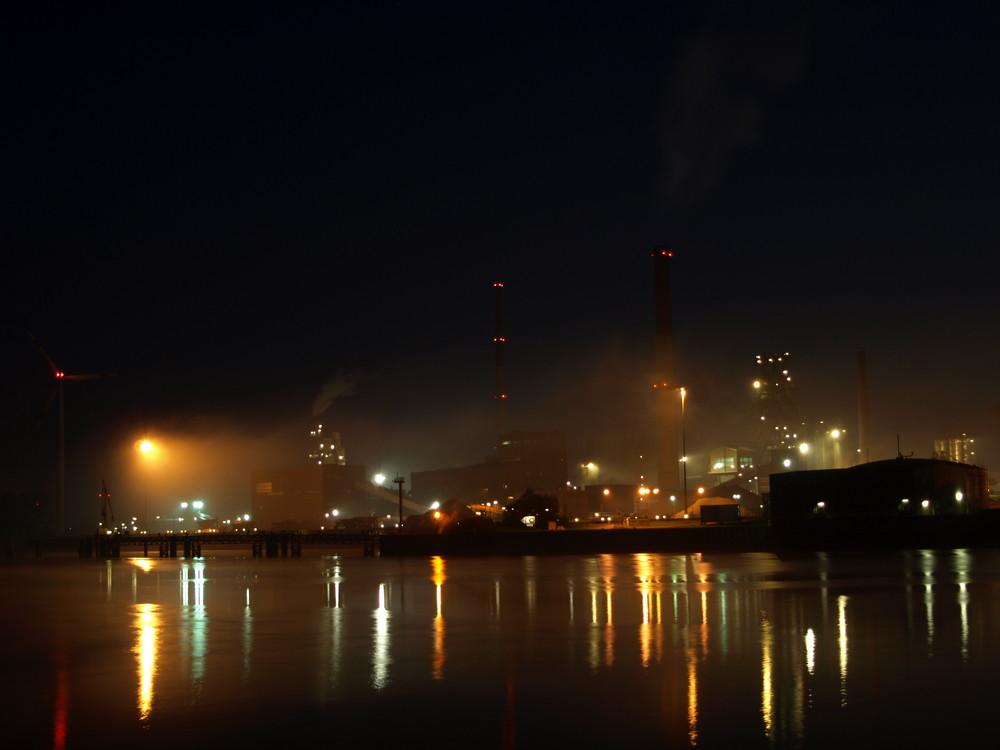 Die Nacht am Stahlwerk