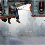 die Nebelmaschine startet....schon mal..