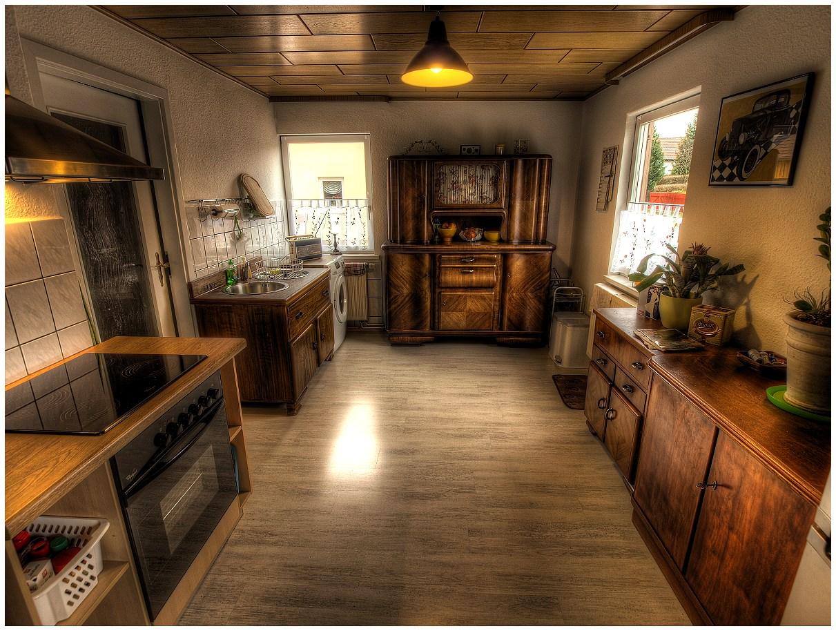 die neue alte k che foto bild bearbeitungs techniken hdri tm hdr2 bilder auf. Black Bedroom Furniture Sets. Home Design Ideas