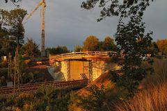 Die neue Brücke ...