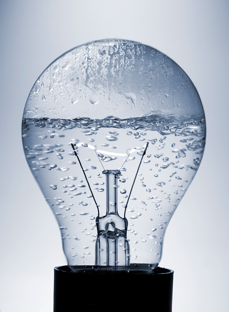 Die neue Energiesparlampe incl. Wasserkocher