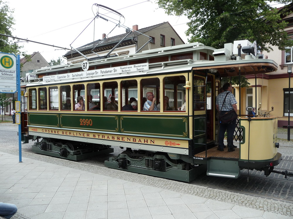 Die neue historische Straßenbahn