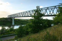Die neue Hochbrücke bei Grünental
