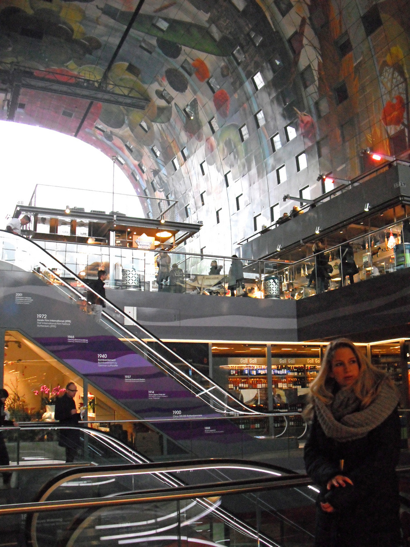 Die neue Markthalle in Rotterdam
