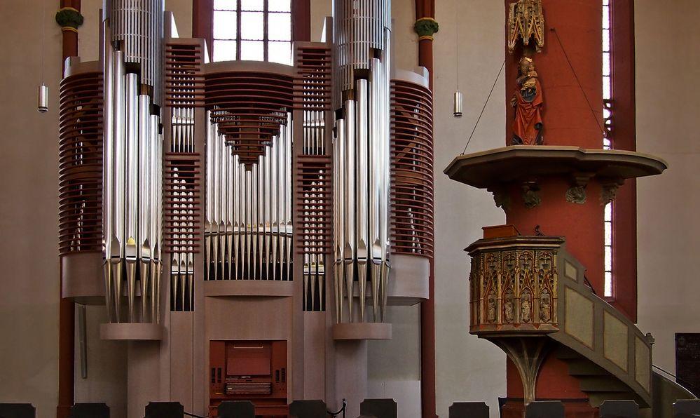 Die neue Orgel in der Korbacher Kilianskirche