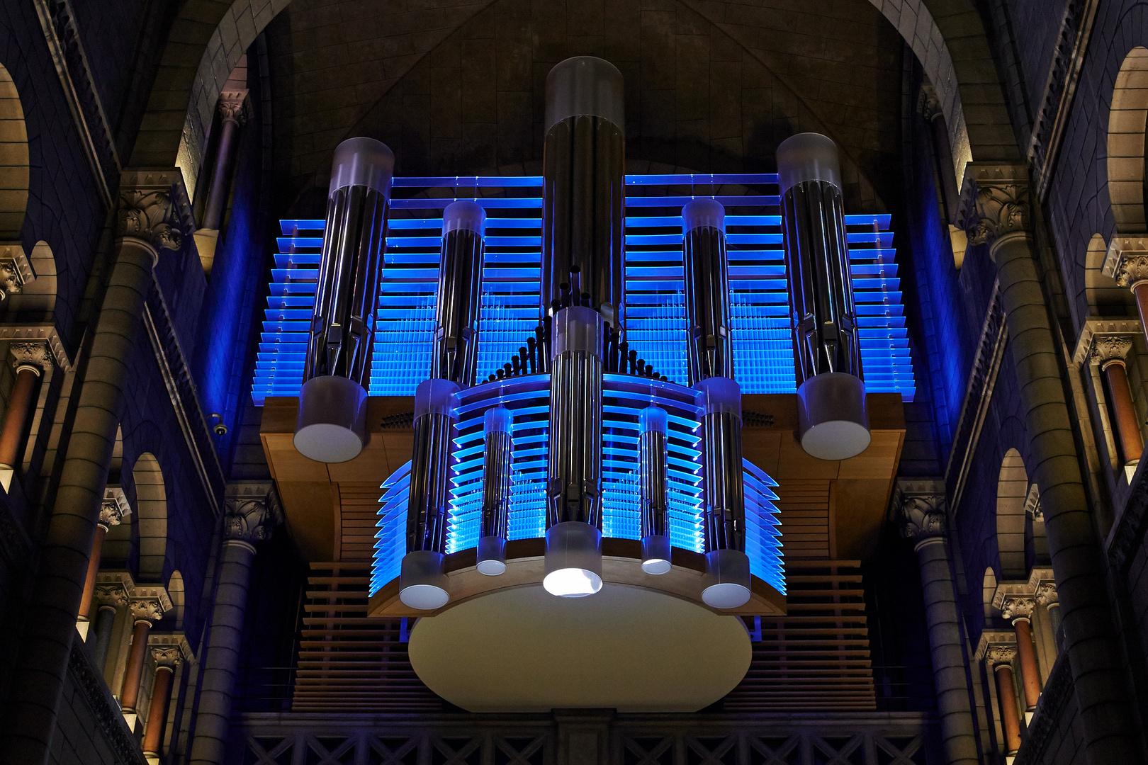 Die neue Orgel in Monaco