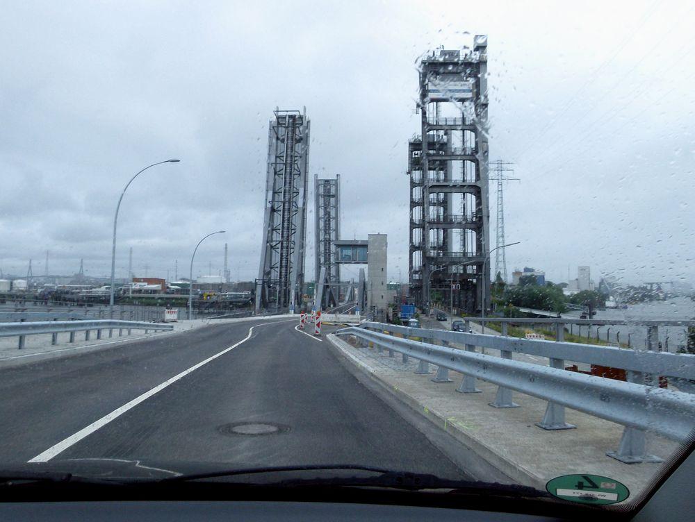 Die neue Rethebrücke ist fertig:-)