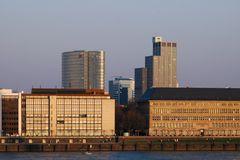 Die neue Skyline am Mannesmannufer