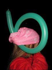* die neueste Hut Kreation zu Weihnachten *