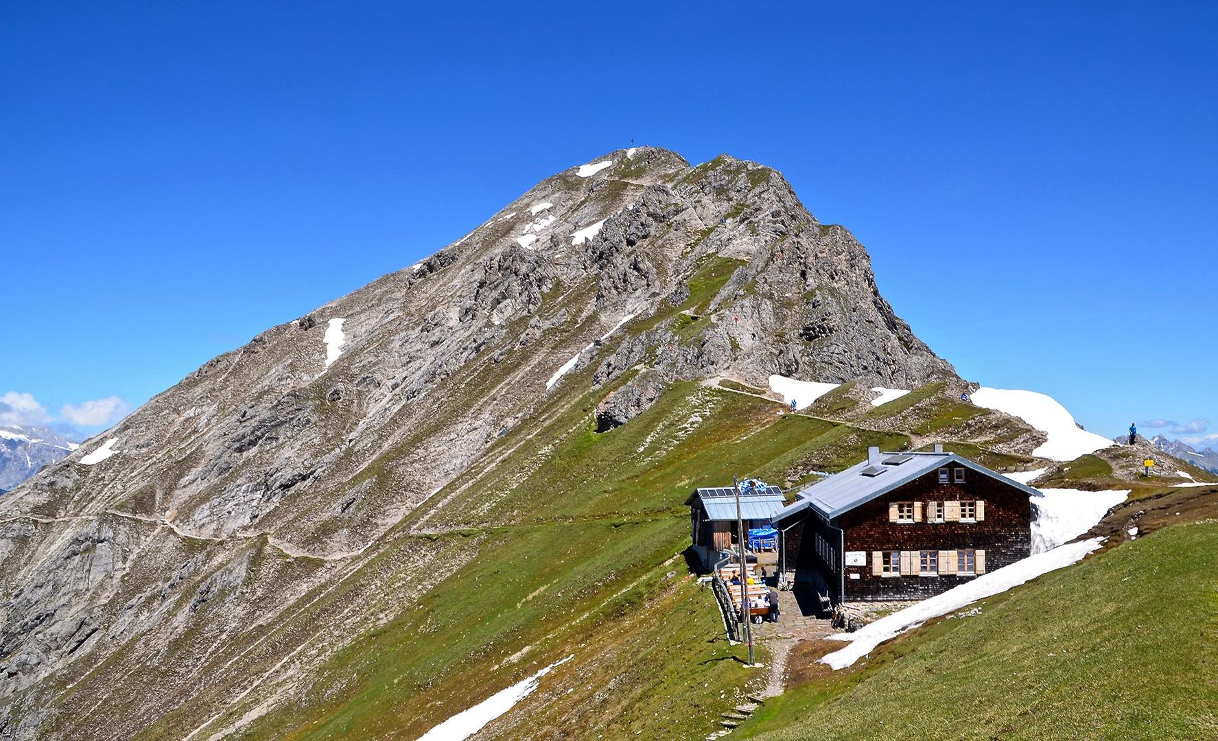 Die Nördlinger Hütte