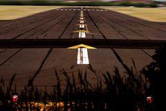 Die Nord Landebahn in Tempelhof