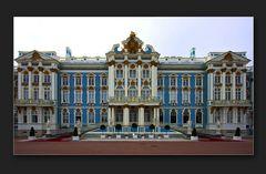 Die Nordfassade des Katharinenpalasts