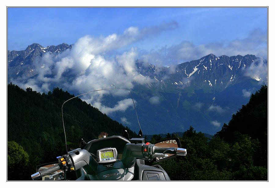 die Nordkette bei Innsbruck