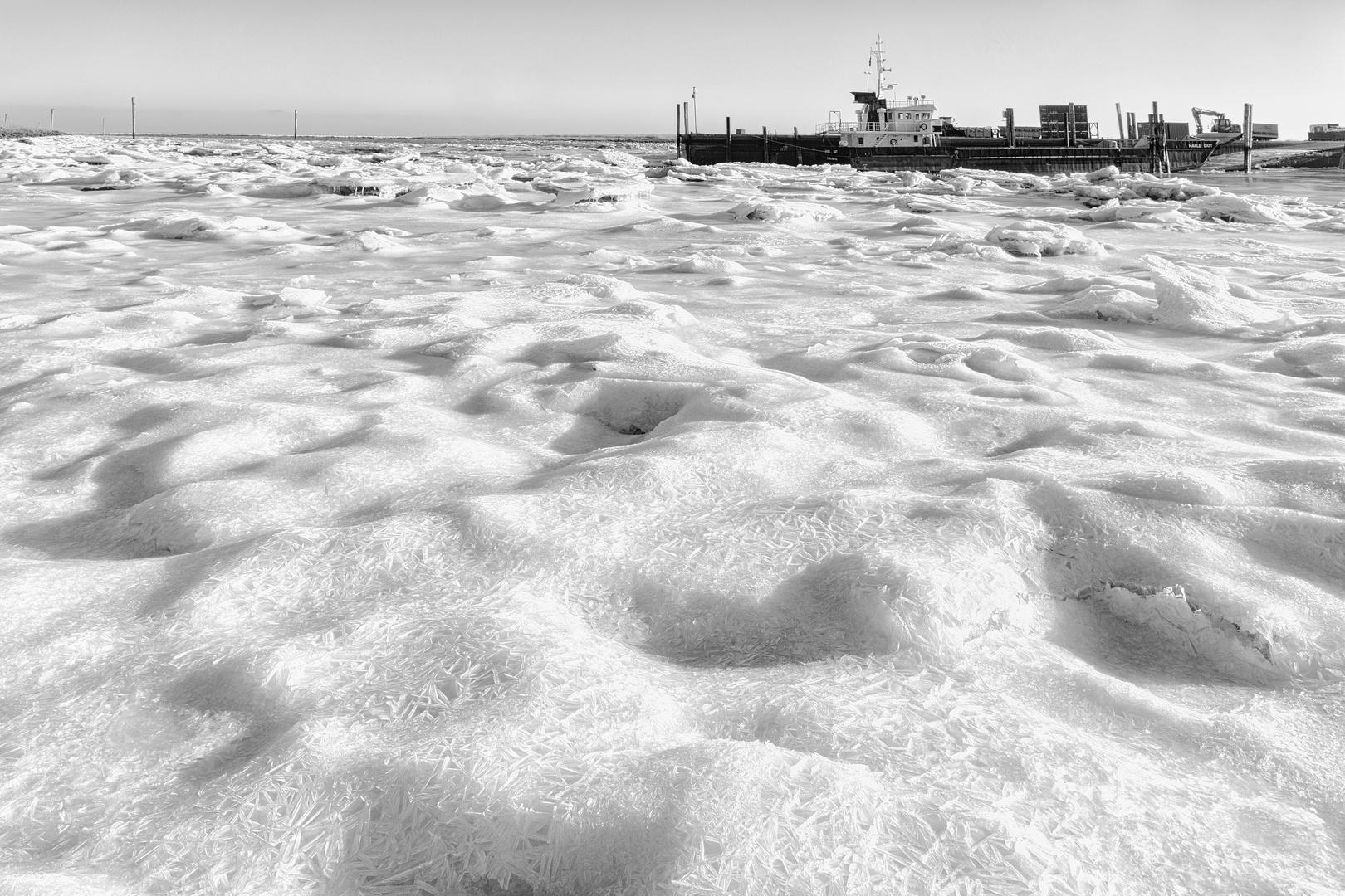 Die Nordsee im Eis