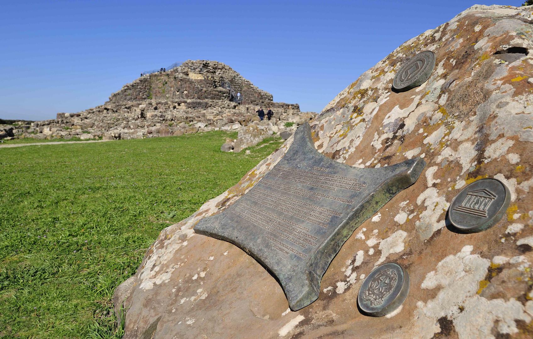 Die Nuraghe Su Nuraxi gehört zum Weltkulturerbe