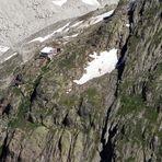 Die Oberaletschhütte 2640 m