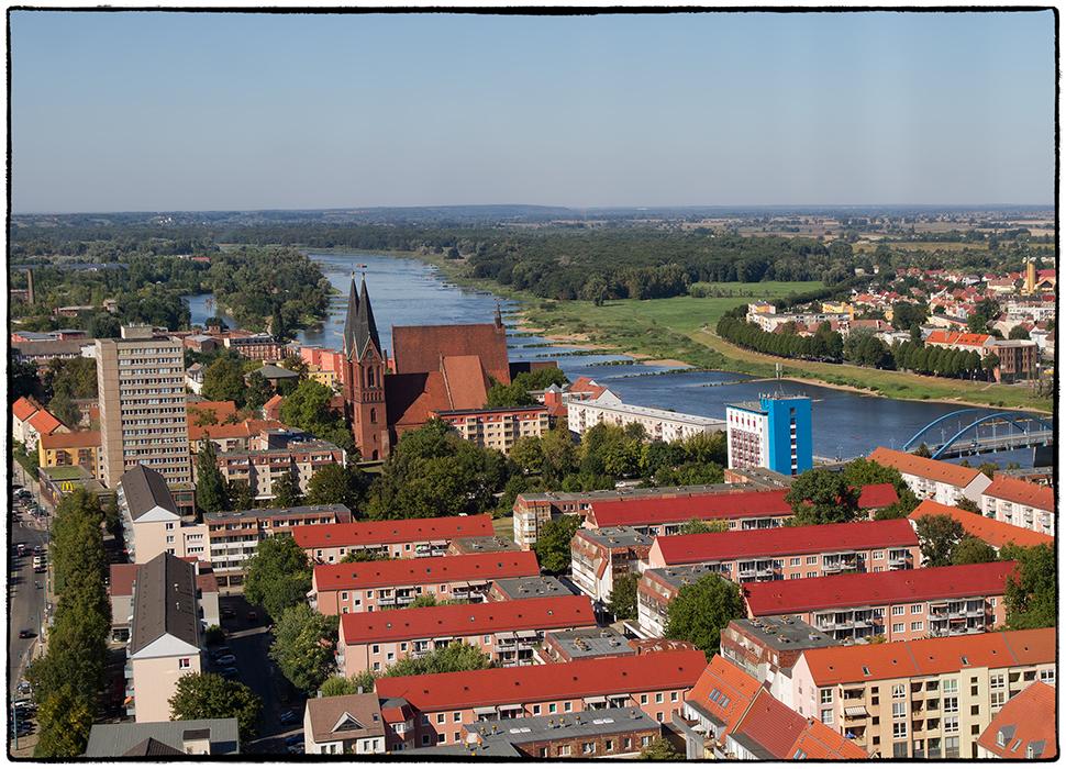 Die Oder in Frankfurt