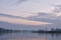 Die Oder ist ein breiter Fluß