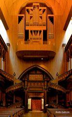 Die Orgel der Chapelle Notre Dame de Sacre Coeur