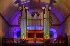 Die Orgel der Kapuzinerkirche in Koblenz-Ehrenbreitstein (3)