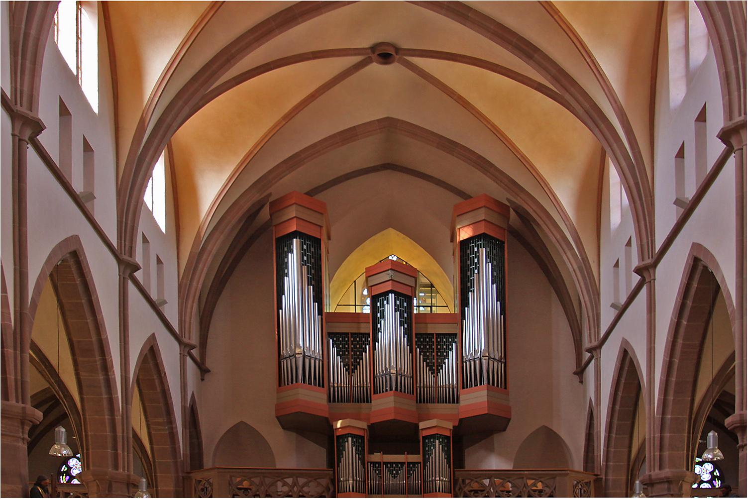 Die Orgel der Stadtkirche Waibstadt