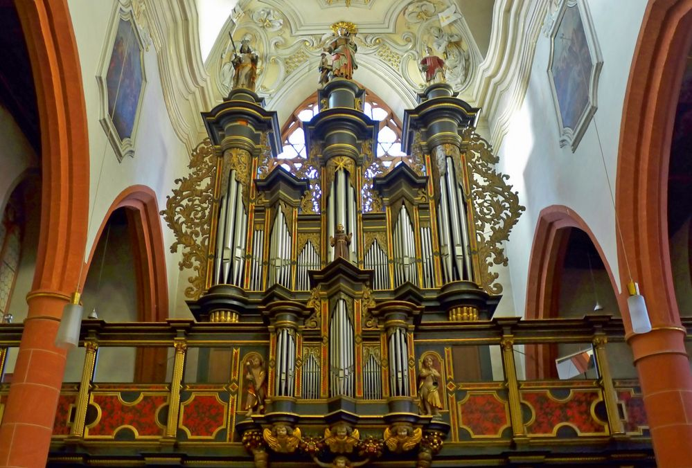 ... die Orgel