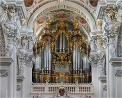 Die Orgel im Passauer Stephansdom
