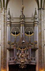 Die Orgel im Utrechter Dom