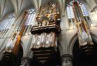 Die Orgel in der Cathédrale des Saints Michel et Gudule