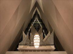 Die Orgel in der Eismeerkathedrale