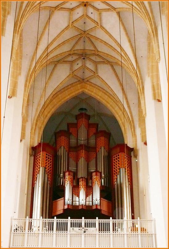 Die Orgel in der Frauenkirche München