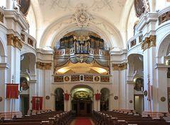Die Orgel von Dürnstein