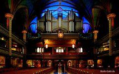 Die Orgel von Notre Dame de Montreal
