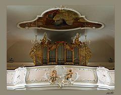 Die Orgel von Sankt Cyriak