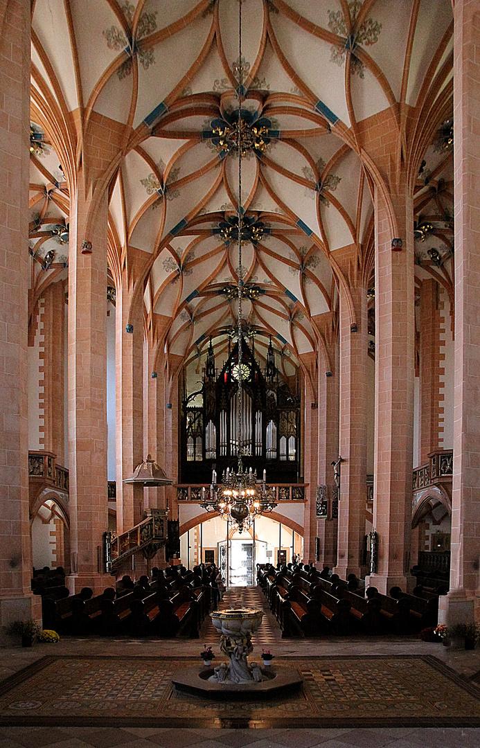 """Die """" Orgelseite"""" der Annenkirche in Annaberg- Buchholz"""