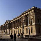 Die Ostfassade des Louvre