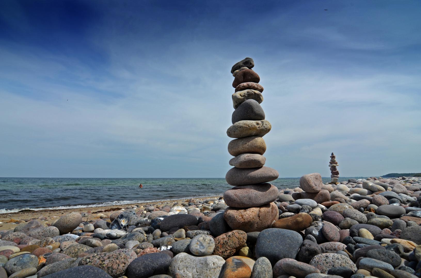 Die Ostsee baut auf...