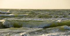 Die Ostsee von Hiddensee nach Windstärke 12