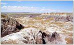 Die Painted Desert im Petrified Forest N.P. - Arizona, USA