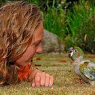 Die Papageienmama