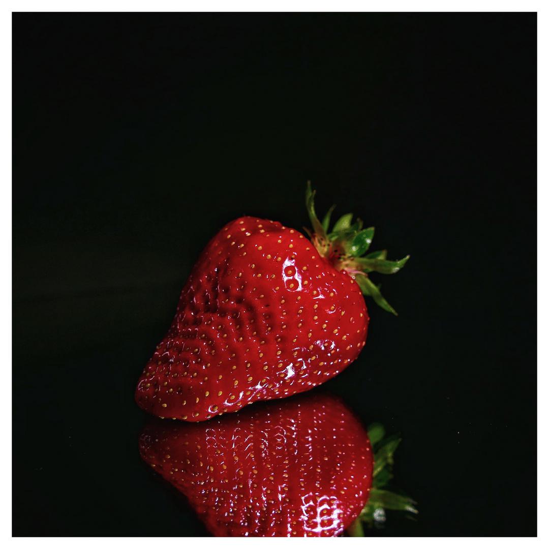 die perfekte Erdbeere