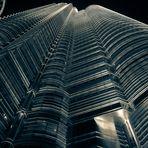 Die Petronas Towers in Kuala Lumpur aus etwas anderer Perspektive