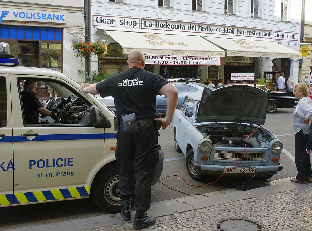 Die Polizei - Dein Freund und Helfer!