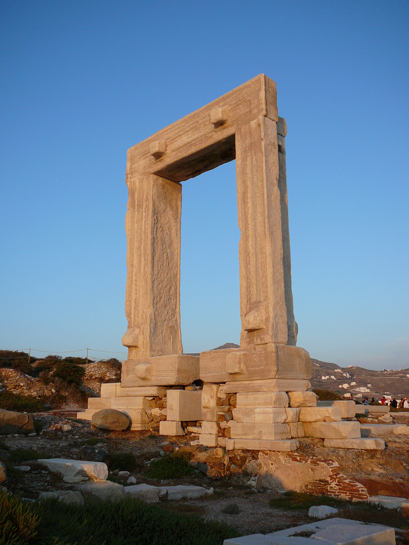 Die Portara von Naxos