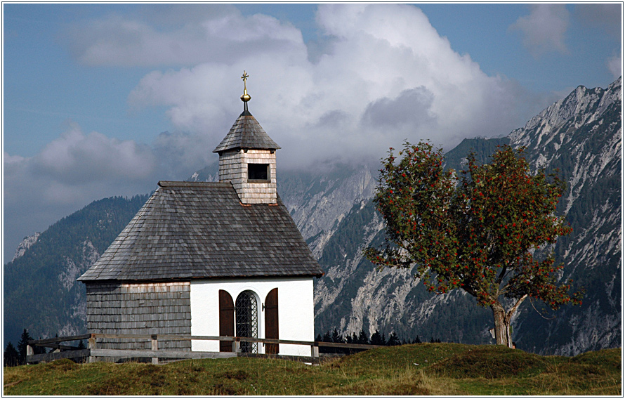 die postalmkapelle ...