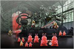 Die Produktion der rosa Kaninchen  ...