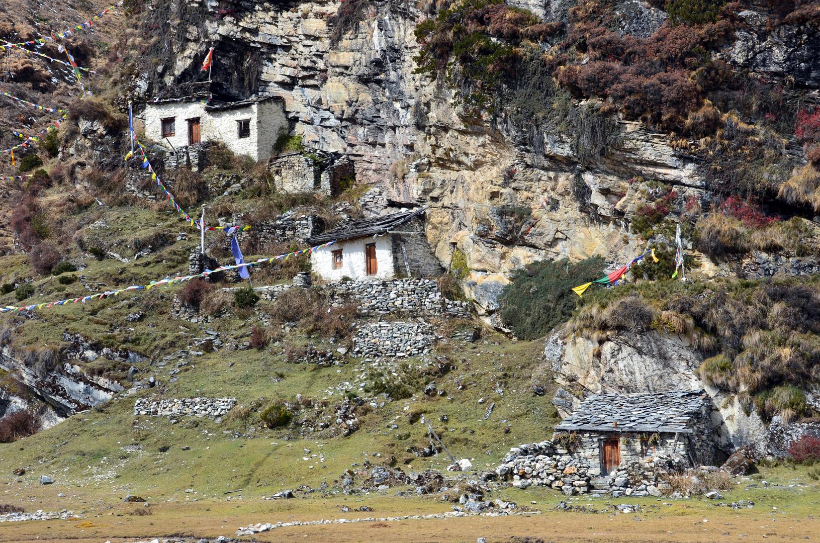 Die Pungyen Gompa nahe des Manaslu auf 4060 m Höhe (2)